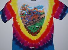 "GRATEFUL DEAD ""SUMMER TOUR 94"" 2-SIDED YOUTH TIE DYE T-SHIRT NEW"