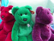 BEANIES BUDDIES TY  *-* COLLECTION OURSONS COULEUR *-* 25 cm assis AU CHOIX