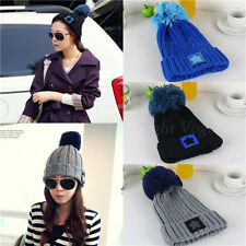 New Hot women Lady Cute Star Baggy Warm Beret Beanie Knit Crochet Ski Hat Cap 49