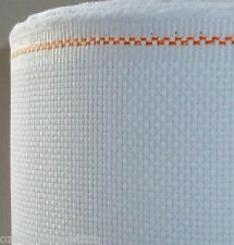100% Cotton 11CT 14CT Cross Stitch Aida Fabric -- White 49cm*50cm