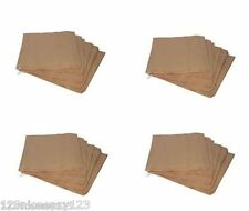 """BROWN PAPER BAGS (12""""x12"""")(305x305mm)Large Sandwich Packed Lunch Pack Up Bag"""