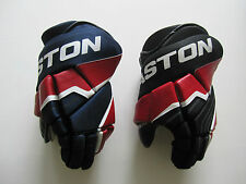 "Easton Stealth 65S SR Hockey Gloves! New, BEST PRICE, 13"" Black Red White Navy"