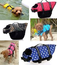 DOG LIFE JACKET & PET SAFETY VEST PRESERVER XS SMALL MEDIUM EXTRA LARGE