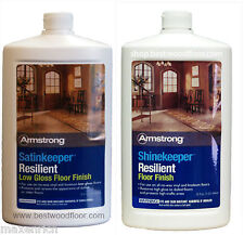 Armstrong ShineKeeper Resilient Floor Finish (Low Gloss) or (High Gloss) 32 oz