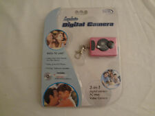 Keychain Digital Camera 3-in-1
