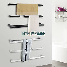 ACA BathroomTowel rack rail Toothbrush paper Roll holder robe hook hanger set