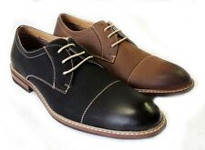 NEW *FERRO ALDO* MENS LACE UP OXFORDS WING TIP LEATHER LINED COMFORT DRESS SHOES