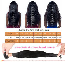 "Clip In Remy 100% Human Hair Extension 8Pcs Full Color 16""-26"""