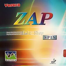 Yasaka ZAP SPIN (BIOTECH) Pips In Table Tennis Rubber With Sponge