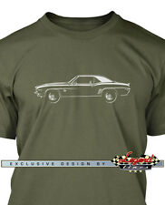 Chevrolet Camaro Coupe SS 1969 T-Shirt - Multiple colors - All Sizes