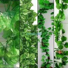 Artificial Ivy Vine Green Leaves Leaf Foliage Plant For Home Garden Decoration