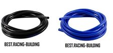 Vacuum Silicone Hose 2 3 4 5 6 8 10 12 mm Coupler Pipe Tube,black-blue,5 feet