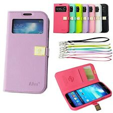 Ailun Magnetic Wallet PU Leather Flip Case Cover Fr Samsung Galaxy S4 S IV i9500