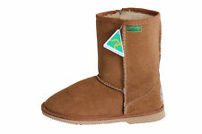 Genuine sheepskin Kids Classic Short Ugg Boots Chestnut Colour  Australian Made