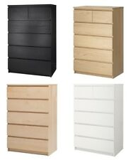 IKEA MALM 6 Drawer Chest ***DIFFERENT COLORS***