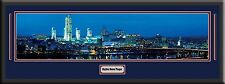 USA City Skylines Panoramas Deluxe Framed D/Matted With Name Plaque - A to M-New