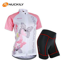 Women's Cycling Clothing Set Bike Bicycle Short Sleeve Jersey Shorts Quick Dry