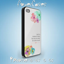 Happy Positive Life Quotes Case Cover for iPhone 4 4S 5 5S and Samsung Galaxy S4