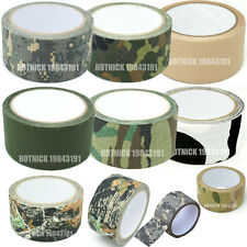 5cm x 10m Kombat Army Camo Wrap Rifle Shooting Hunting Camouflage Stealth Tape