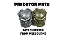 PREDATOR MASK GOLD OR SILVER SCARY HORROR COSTUME ACCESSORY