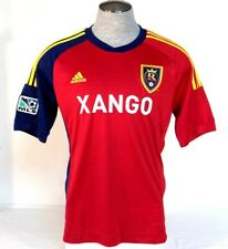 Adidas ClimaCool Real Salt Lake Red Short Sleeve Soccer Jersey Mens NWT