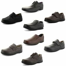 New Mens Stylish Smart Formal Party Slip On Office Work Shoes UK Sizes 6-11
