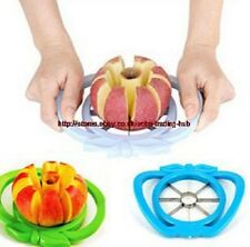 Apple Fruit Easy Cutter Corer Slicer Divider Stainless Blade Kitchen Safe Tool