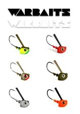 WARBAITS SLAYER SWIM HEAD SALTWATER WEEDLESS JIG CALICO BASS SELECT SIZE / COLOR