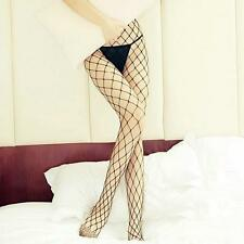 Adult Lady Sexy Tempting Elastic Tights High Top Stocking Big Fishnet Pantyhose