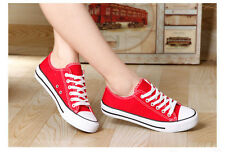 2014 New Style Women's Fashion Sport Shoes Girl's Canvas Low Sneakers Size 35-39