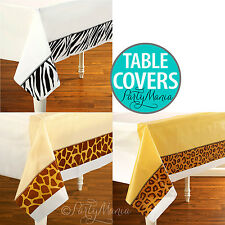 ANIMAL PRINT JUNGLE SAFARI PARTY SUPPLIES DECORATIONS TABLE COVER TABLECLOTH