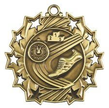 Track Running Medals Award Trophy Team Sports W/Free Lanyard FREE SHIPPING TS414