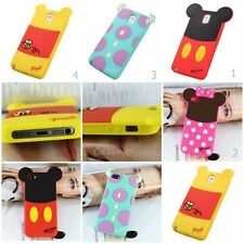 For Apple iPhone 5s 5 5c 4s 4 Mickey Minnie Sulley Silicone Soft Phone Case