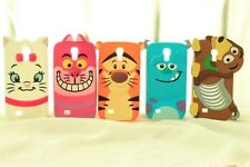 For Apple iPhone 6 6 Plus 5s 5 5c 4s 4 3D Sulley Cheshire Silicone Phone Case