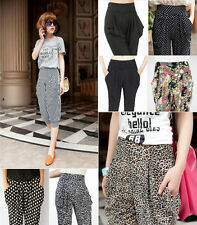 New Women Fashion Sexy Korean Version Summer Casual Harem Pants Seventh Pants