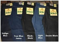 The New Solo Wide Leg Jeans with 32L on All sizes. 5 colors available