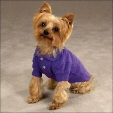 Zack and Zoey Dog Pet Puppy Polo Shirt Apparel Jacket Clothes Purple XXS,S, MD