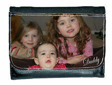 Personalised Photo Wallet add your Picture and Message Father's Day Gift for HIM