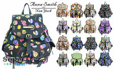 Ladies Anna Smith by LYDC Retro Backpack Rucksack Girls School College Bag CHEAP