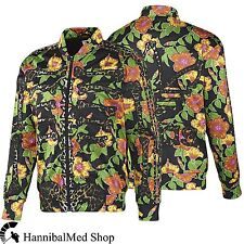 Adidas Originals ObyO Jeremy Scott JS Flower Bone Tropical F50867 Leopard Jacket