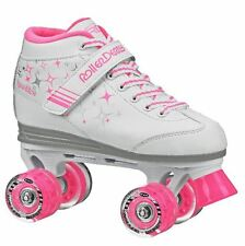 Roller Derby SPARKLES Kids Girls Pink Children's Roller Skates + light up wheels