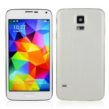 "5"" Android 4.4.2 MT6582 Quad Core Unlocked GSM WCDMA GPS Smartphone SMG900 White"