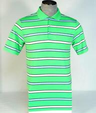 Nike Golf Tour Performance Dri Fit Green Stripe Short Sleeve Polo Shirt Mens NWT
