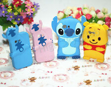 3D Stitch Cartoon Silicone Phone Case For Samsung Galaxy Y S5360 Back Cover