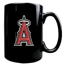 MLB Official Licensed Black Coffee mug with pewter logo 15OZ