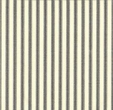 French Country Ticking Stripe Brindle Gray Decorative Envelope Pillow Cotton