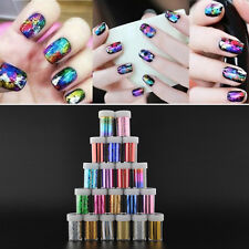 1 Bottle Nail Art Tips Top Coat Nail Foil 20 Patterns Choose DIY Hot New