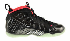 "Nike Little Posite Pro ""Yeezy"" (GS) Big Kids Shoes Black/Black-Laser Crimson 64"