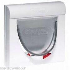 New Staywell Petsafe Magnetic Cat Flap / Pet Door 932 Catflap Multi Key Options