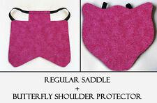 2 Pink Specks Chicken Saddle Hen Apron Chicken Wing Poultry Back Protector